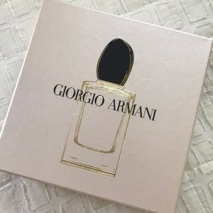 Other - Giorgio Armani Perfume Lotion Set